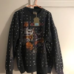 LF/Furst of a Kind Vintage Rhinestone Sweatshirt